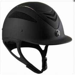 One-K Defender Pro Matt Chrome Pipe Riding Helmet