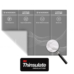Sous-bandes Winderen Thermo Silver