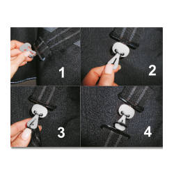 SAFE-GUM, SET OF 6 FOR T-FASTENERS