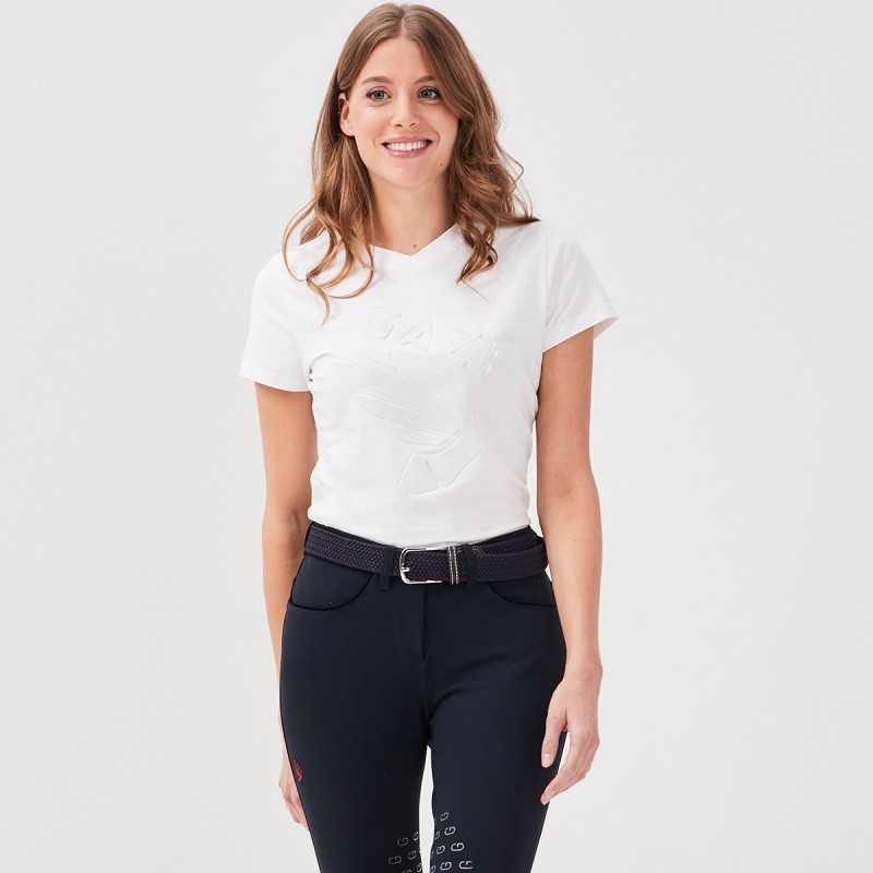 Jazzie T-shirt White Women Gaze