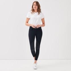 Jazzie: Tee-shirt col V blanc femme de chez Gaze