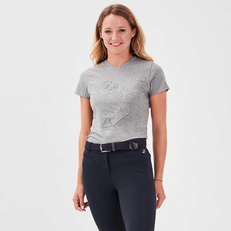 Jazzie Women grey Tee-shirt