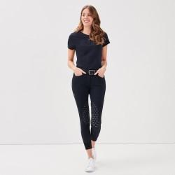 Jazzie Black Tee-shirt Women Gaze
