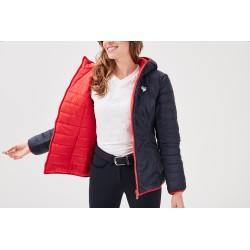 Jumenta Reversible Red light down jacket Gaze