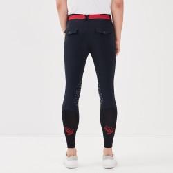 JIVARO Pantalone Blu Uomo Gaze