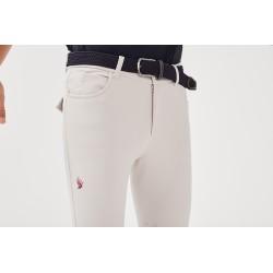 JIVARO Pantalon d'équitation sable homme GAZE
