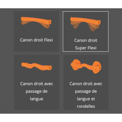 Mors Swales (lot de 3 paires) Winderen à canon droit