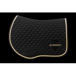 Winderen Jumping Saddle Pad Black/Gold