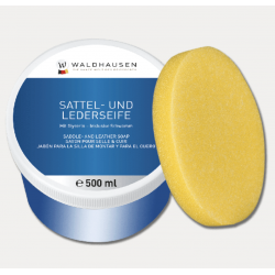 Waldhausen SADDLE & LEATHER SOAP IN A TIN 500 ML