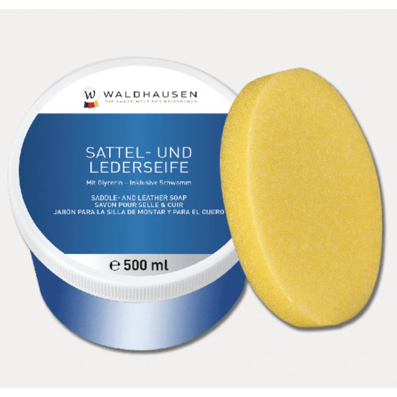 Waldhausen SADDLE & LEATHER SOAP IN A TIN 500 ML