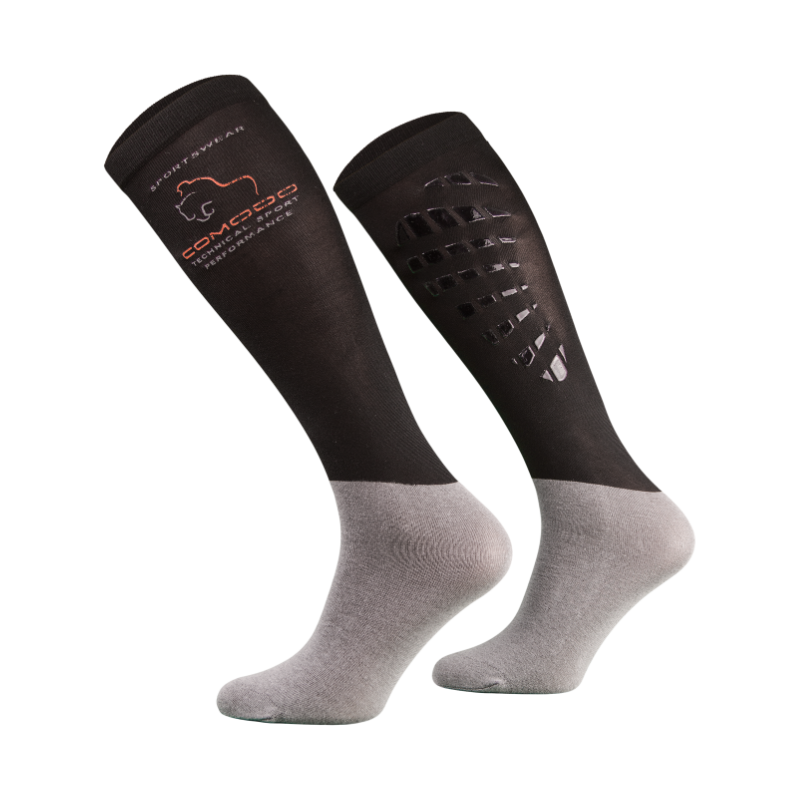 Chaussettes Microfibre Comodo avec Grip en Silicone